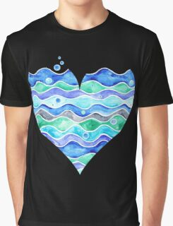 A Sea of Love Graphic T-Shirt