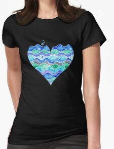 A Sea of Love Womens Fitted T-Shirt