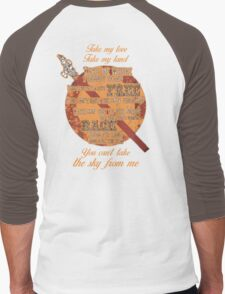 Firefly Ballad of Serenity - Can't Take the Sky Men's Baseball ¾ T-Shirt