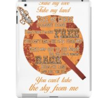 Firefly Ballad of Serenity - Can't Take the Sky iPad Case/Skin