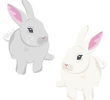 Rabbits by kwg2200