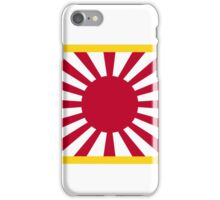 Japan Rising Sun Flag iPhone Case/Skin