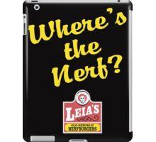 Leias Nerfburgers iPad Case/Skin