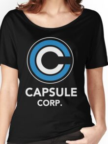 DRAGON BALL Z CAPSULE CORP Women's Relaxed Fit T-Shirt