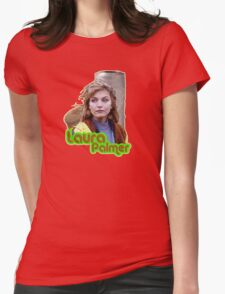 Laura Palmer Womens Fitted T-Shirt