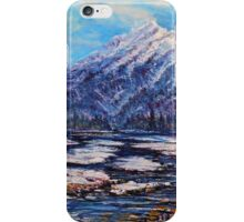 Majestic Rise - Earth tones iPhone Case/Skin