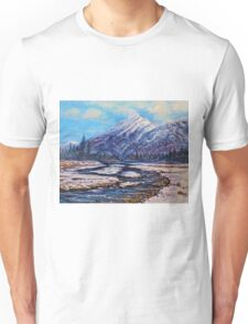 Majestic Rise - Earth tones Unisex T-Shirt