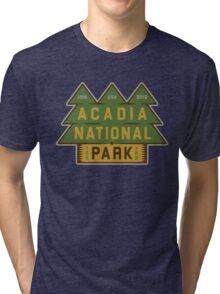 Acadia National Park 100th Birthday Graphic Tri-blend T-Shirt