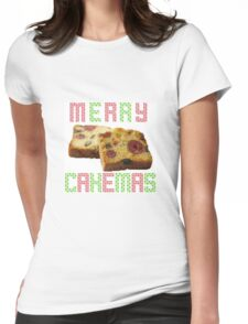 MERRY CAKEMAS Womens Fitted T-Shirt