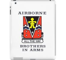 509th Airborne - Brothers in Arms iPad Case/Skin