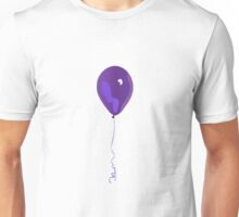 Purple Balloon, Graphic Design Unisex T-Shirt