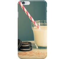 Milk and Cookies iPhone Case/Skin