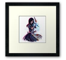 alice - outsider's marker Framed Print
