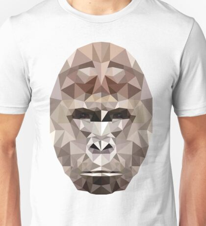 Harambe Low Poly Unisex T-Shirt