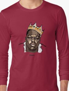 Biggie Notorious BIG Long Sleeve T-Shirt