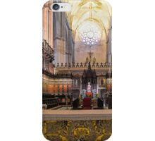 Coro - Catedral de Sevilla, Andalucia, Spain iPhone Case/Skin