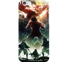 Attack on Titan - Fight  iPhone Case/Skin