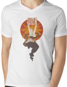 Fire Spirit of Reading Mens V-Neck T-Shirt