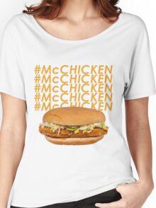McCHICKEN Women's Relaxed Fit T-Shirt