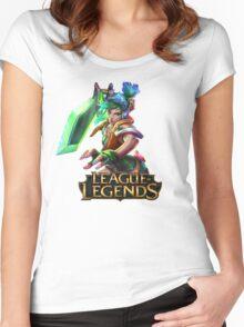 Arcade Riven - League of Legends Women's Fitted Scoop T-Shirt