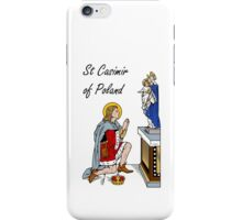 ST CASIMIR, KING iPhone Case/Skin