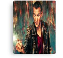9th Doctor Canvas Print