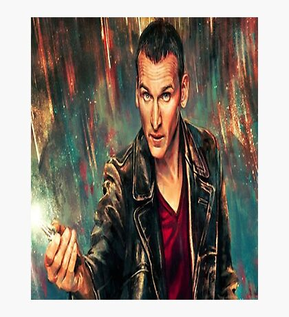 9th Doctor Photographic Print