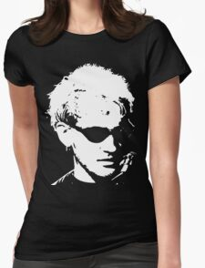 Layne Staley silhouette Womens Fitted T-Shirt
