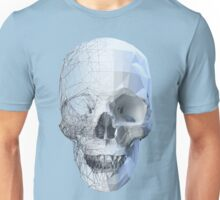 Skull wireframe Unisex T-Shirt