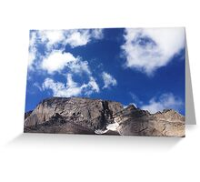 Up With The Clouds Greeting Card