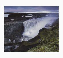 Waterfall: Dawn at Dettifoss, Iceland Baby Tee