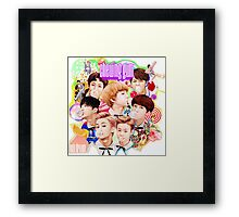 NCT Dream - Chewing Gum Framed Print