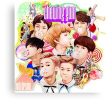 NCT Dream - Chewing Gum Canvas Print
