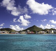 Great Bay: Philipsburg, St. Maarten by thewaxmuseum