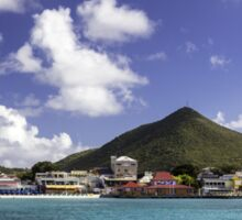 Great Bay: Philipsburg, St. Maarten Sticker