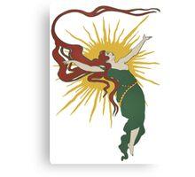 Redheaded Sun Spirit Canvas Print
