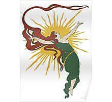 Redheaded Sun Spirit Poster