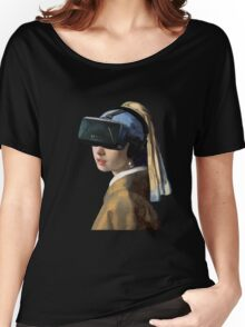 Girl With The Oculus Rift Women's Relaxed Fit T-Shirt