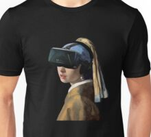 Girl With The Oculus Rift Unisex T-Shirt