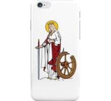 ST CATHERINE  iPhone Case/Skin