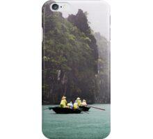 Rain & Rowboats: Life in Halong Bay, Vietnam  iPhone Case/Skin