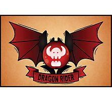 Dragon Rider Photographic Print