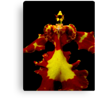The Warrior - Orchid Alien Discovery Canvas Print