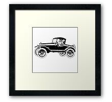 Vint Car Framed Print