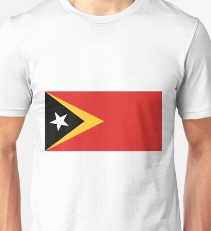 East Timor-Leste Flag Unisex T-Shirt