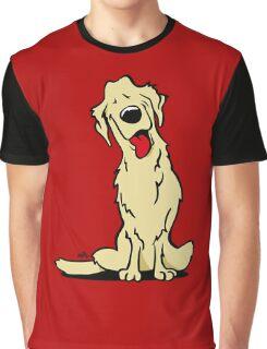 Cartoon golden retriever dog Graphic T-Shirt