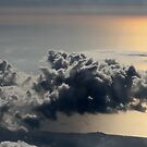 cloud above ocean by Marianna Tankelevich