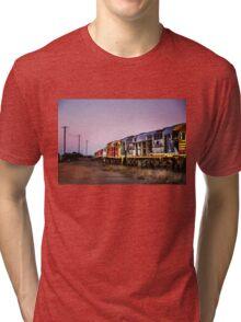 Working Trains Tri-blend T-Shirt