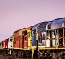 Working Trains Sticker