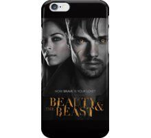 Beauty And The Beast Cover iPhone Case/Skin